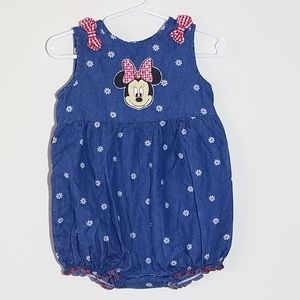 Disney Minnie Mouse Daisy Romper 24m